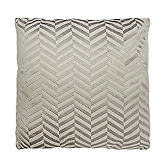 J by Jasper Conran - Grey chevrons cushion