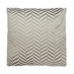 J by Jasper Conran - Grey chevrons cushion