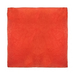J by Jasper Conran - Orange velvet cushion