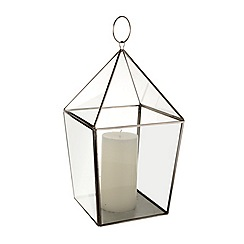J by Jasper Conran - Medium triangle lantern