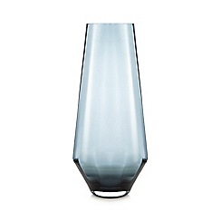 J by Jasper Conran - Blue large optic vase