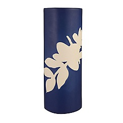 J by Jasper Conran - Blue ceramic 'Mid Century' floral vase