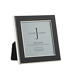 J by Jasper Conran - Black enamel photo frame