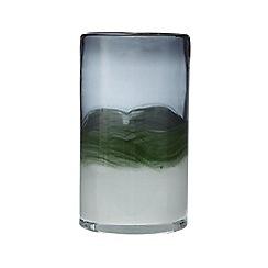 J by Jasper Conran - Green glass art glass vase