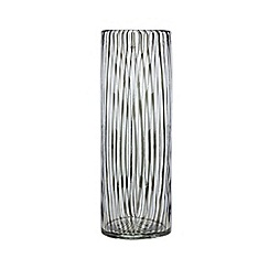 J by Jasper Conran - Black glass vase