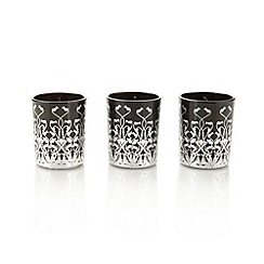 Star by Julien MacDonald - Designer set of 3 sparkling champagne fragranced votive candles