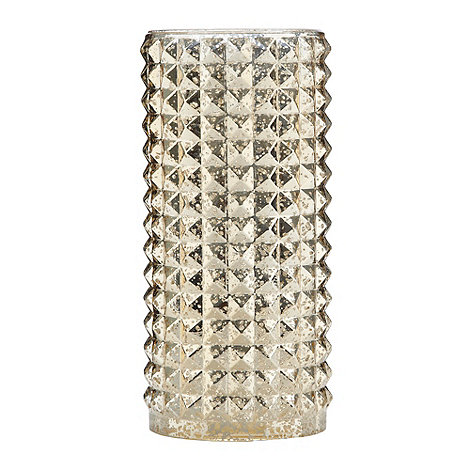 Star by Julien Macdonald - Designer gold faceted vase