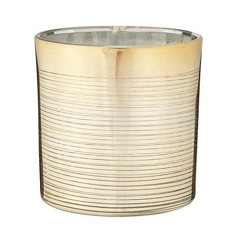 Star by Julien Macdonald - Designer gold lined tea light holder