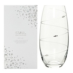 Star by Julien Macdonald - Designer glass swarovski gift boxed swirl vase