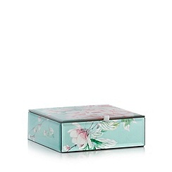 Star by Julien MacDonald - Designer pink glass chinoise flower storage box