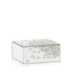 Star by Julien Macdonald - Designer pink glass jewel storage box