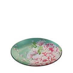 Star by Julien MacDonald - Designer glass pink floral trinket dish