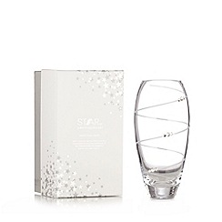 Star by Julien MacDonald - Designer glass diamante vase
