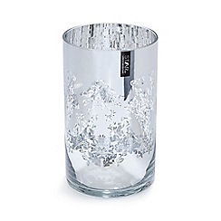 Star by Julien Macdonald - Silver glass floral candle holder