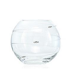 Star by Julien Macdonald - Designer glass diamante bowl vase