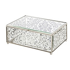 Star by Julien MacDonald - Designer glass scroll jewellery box