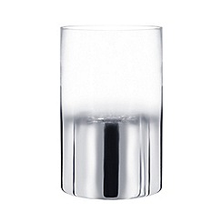 Star by Julien Macdonald - Silver ombre candle holder