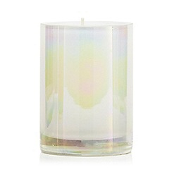 Star by Julien Macdonald - Glass white lustre vanilla scented candle