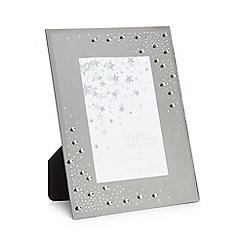 Star by Julien Macdonald - Silver diamante photo frame