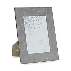 Star by Julien Macdonald - Glass 'Aurora' glitter feather photo frame