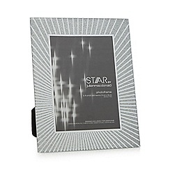Star by Julien Macdonald - Silver glass 'Alana' rectangle photo frame