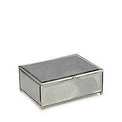 Star by Julien Macdonald - Small silver 'Aurora' feather box