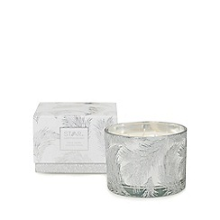 Star by Julien Macdonald - Silver black vanilla scented candle