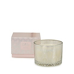 Star by Julien Macdonald - Silver peach bellini scented candle