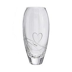 Star by Julien Macdonald - Swarovski swirl heart crystal bud vase