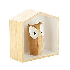 Ben de Lisi Home - Hand carved designer wooden hanging house decoration