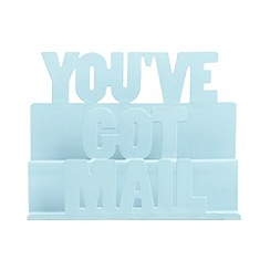 Ben de Lisi Home - Designer blue 'You've got mail' holder