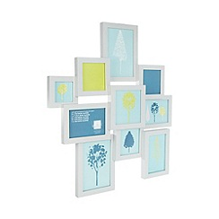 Ben de Lisi Home - Designer Grey wooded multiple photo frame