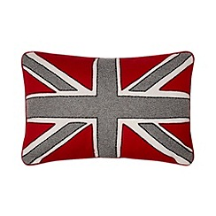 Ben de Lisi Home - Designer red 'Union Jack' cushion