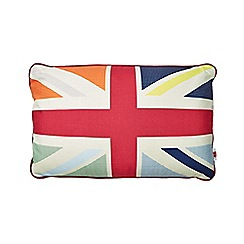Ben de Lisi Home - Designer red union jack cushion