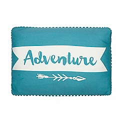 Ben de Lisi Home - Turquoise 'Adventure' cushion