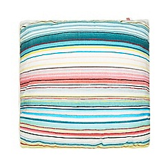 Ben de Lisi Home - Yellow lido striped cushion
