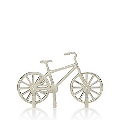 Ben de Lisi Home - Silver bike shaped wall hook