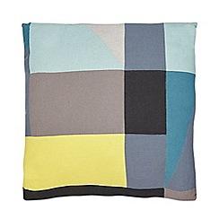 Ben de Lisi Home - Multi-coloured patchwork print cushion