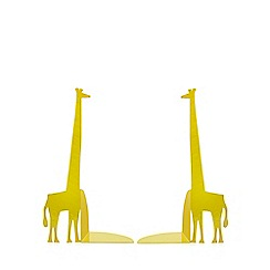 Ben de Lisi Home - Yellow giraffe bookends