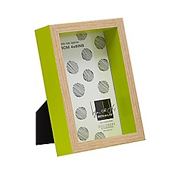 Ben de Lisi Home - Green boxed photo frame