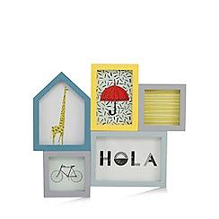 Ben de Lisi Home - Multi-coloured aperture wall art