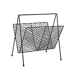 Ben de Lisi Home - Black magazine rack
