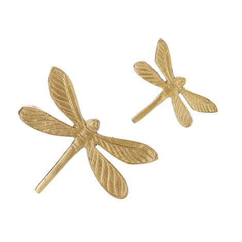Butterfly Home by Matthew Williamson - Designer set of two dragonfly wall decorations