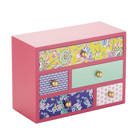 Butterfly Home by Matthew Williamson - Designer wooden multi drawer storage box