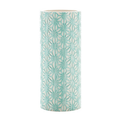 Butterfly Home by Matthew Williamson - Designer blue ceramic geo vase
