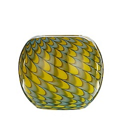 Butterfly Home by Matthew Williamson - Designer yellow peacock ball vase