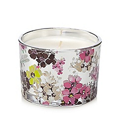 Butterfly Home by Matthew Williamson - Large glass blossom votive candle