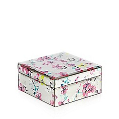Butterfly Home by Matthew Williamson - Designer pink butterfly glass box