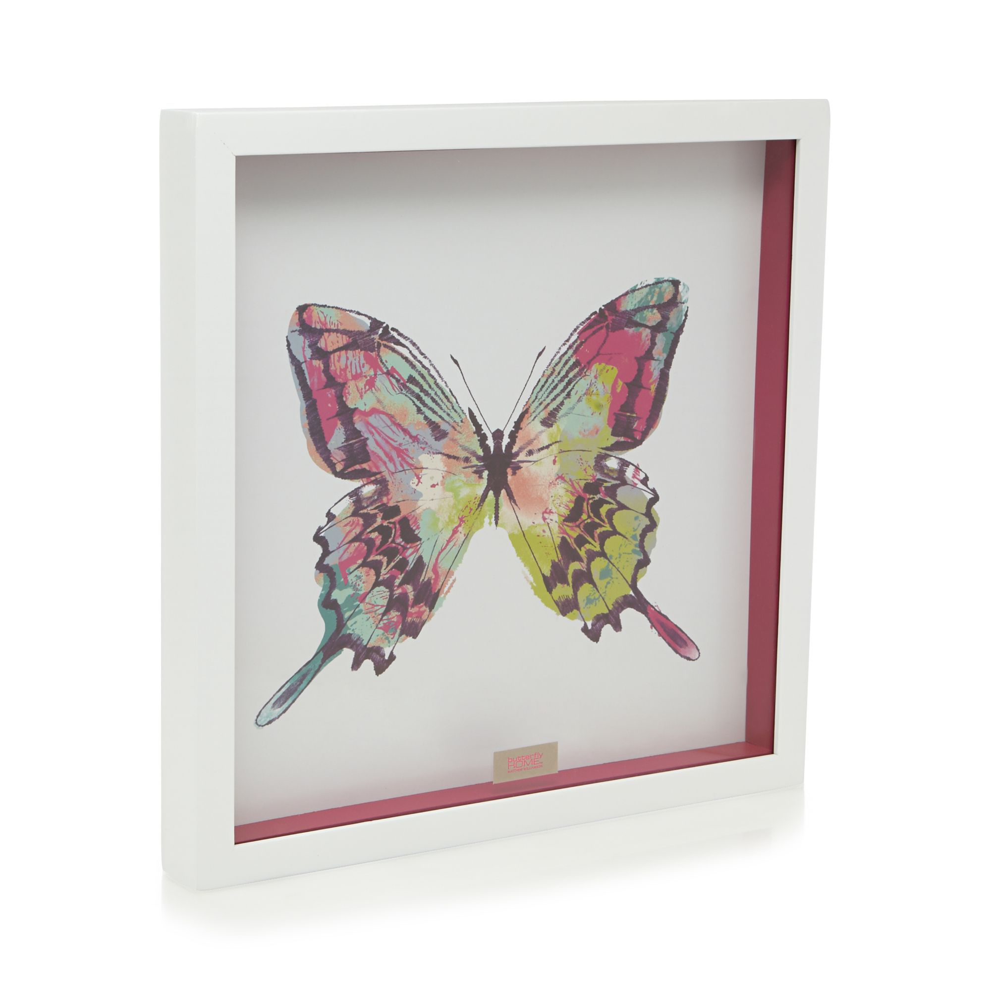 White Butterfly Wall Decor Target : Butterfly home by matthew williamson designer white