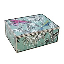 Butterfly Home by Matthew Williamson - Medium glass Eden print keepsake box